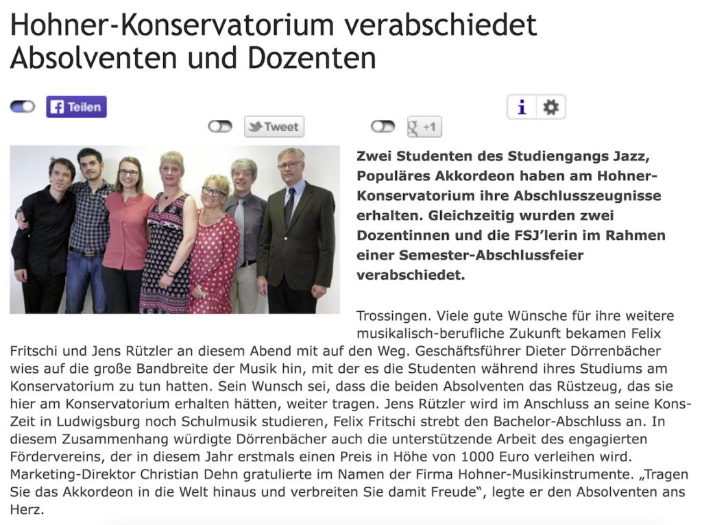 Glückwunsch Jens Rützler