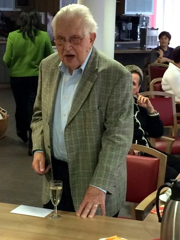 Gründungsmitglied wird 95 Jahre